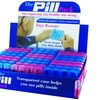 7-Day Weekly Pill Box with Extra Compartment (2-Pack)