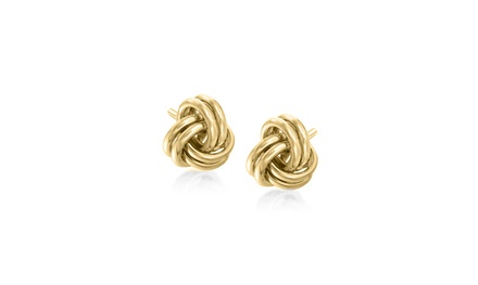 Love Knot Classical Studs in 14K Gold Plating Was: $29.99 Now: $7.99.