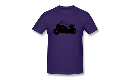 COST Mens Cool Rides Motorcycle Tee Shirts Purple 643ec1b4-e1af-499a-9a92-3f3cd0dfba84