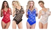 Womens Lace Lingerie Babydoll Open Bra Underwear Crotch Nightwear