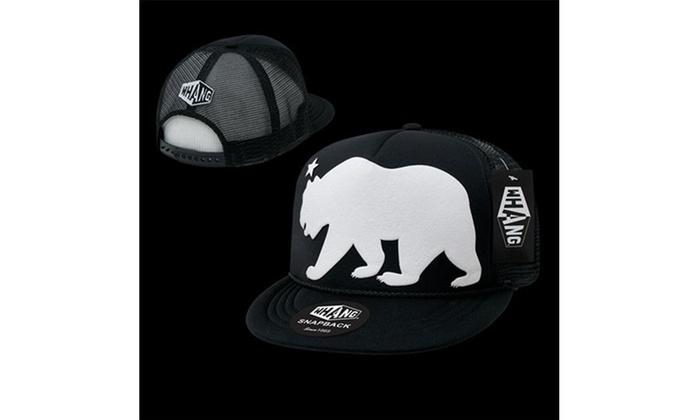 a947fce1541bb Decky W17-BLK Giant Bear Snapback Cap Black Multi-color Label original.jpg