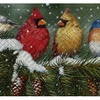Winter and Holiday Embossed Doormats