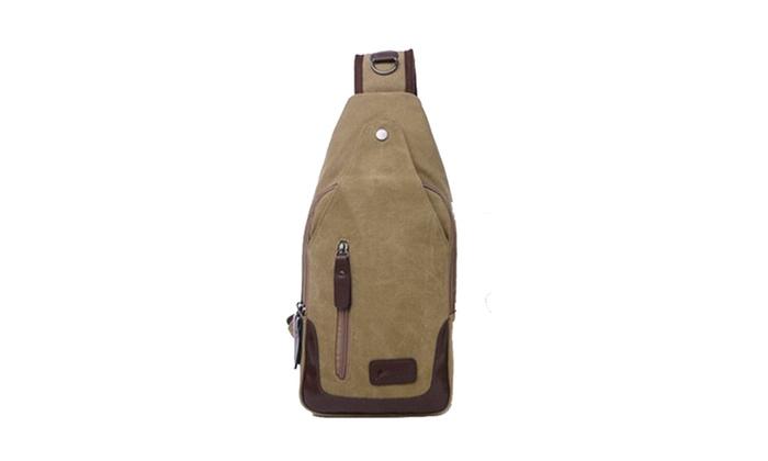 0d446fc7ec04 Canvas Shoulder Sling Bags (1-Pack or 2-Pack)