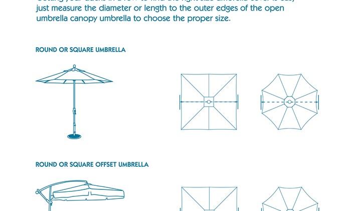 Patio Umbrella Cover Duck Covers Soteria RainProof 76 In.