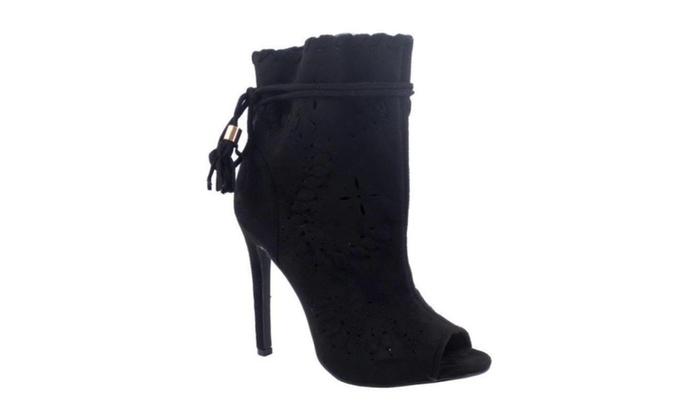 Simply U.B.U. Shoes Women's Brady Heels, Black