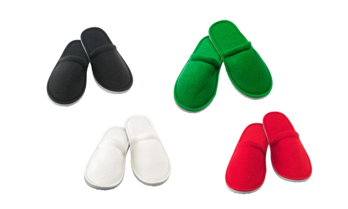 100 % Polyester Slippers For Bath and Everyday Home