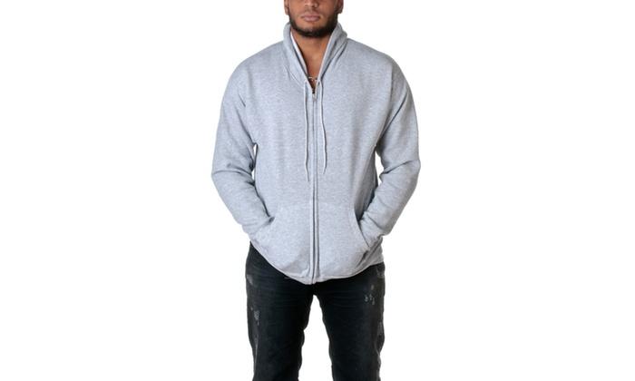 Hanes Mens ComfortBlend Full-Zip Hoodie P180-2