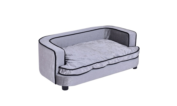 Pet Lounge Sofa Dog Puppy Sleeping Bed Soft Warm Couch Cushion ...