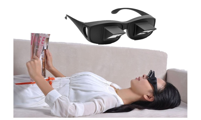 b7f8d7ac425d Lazy Periscope Horizontal Reading Glasses On Bed Prism Spectacles   Groupon