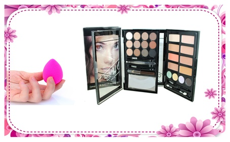 Concealer & Eyebrow Duo Makeup Kit With Makeup Sponge 00feaf4a-c055-4a5f-a334-23793bde94dd