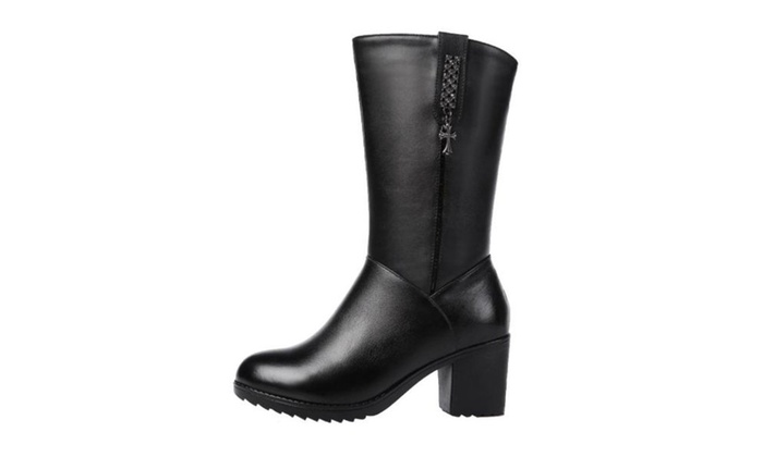 Women's Fashion Diamante Martin Boots