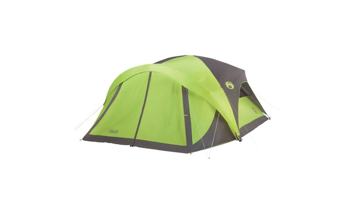 Coleman Evanston 8-Person Screened Dome Tent  sc 1 st  Groupon & Up To 33% Off on Coleman Evanston 8-Person Scr... | Groupon Goods