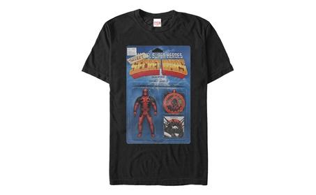 Gstet Marvel Deadpool Secret Action Figure Adult Tee 8375f9ae-598d-4597-83f5-4a507e21f9b8