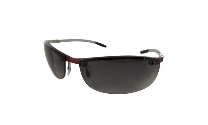 90e9206ebc Ray Ban Tech  RB8305 Carbon Fibre  Semi Rimless Polarized Sunglasses ...