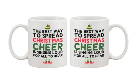 Cute Holiday Coffee Mug The Best Way To Spread Christmas Cheer Cup 96563b5c-5e16-4c29-ac92-ddf500b307d1