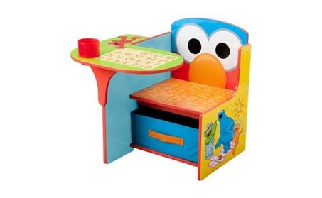 Children Sesame Street Chair Desk with Storage Bin 4231da01-367a-4a0d-93a7-713ee5c8dcd2