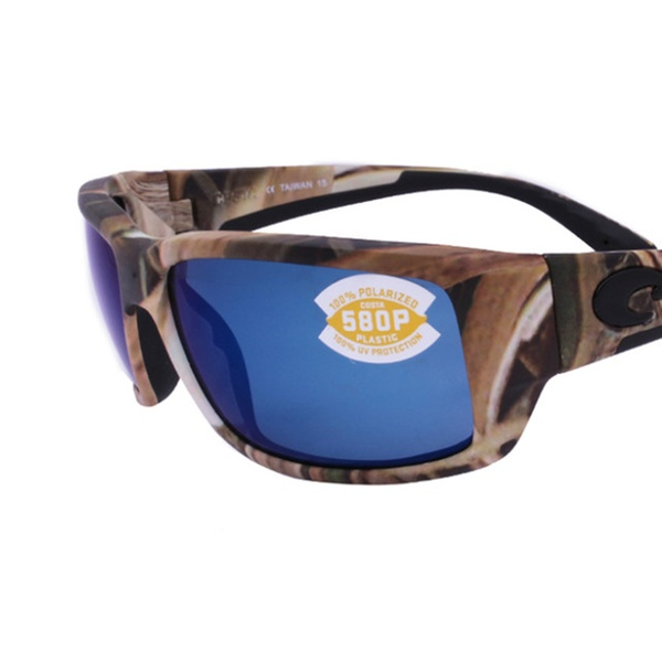 4100f9e55 Costa Del Mar Fantail TF 65 OBMP Mossy Oak S G B C / Blue Mirror 580P |  Groupon