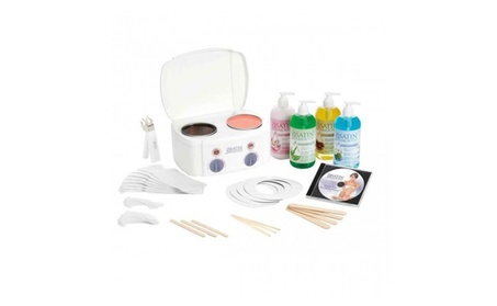 Satin Smooth Professional Double Warmer Wax Kit d46410d0-63ab-49e1-ba2f-0a385e12f5cf