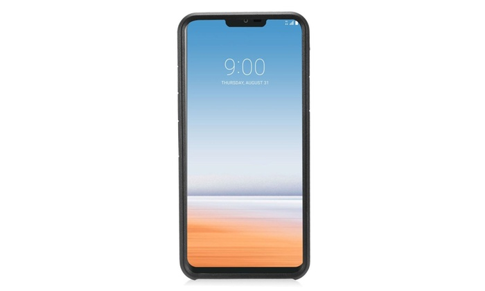 Insten Hard Dual Layer Plastic TPU Rubber Case For LG G7