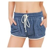 Women's Drawstring Shorts Summer Hot Pants Breathable Yoga Pants