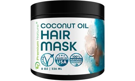 Hair Mask - 8oz - Coconut, Argan Oil - Repair & Protection