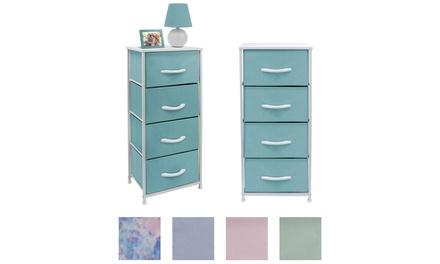 Sorbus Dresser w/ 4 Drawers - Furniture Storage Tower Organizer Unit for Bedroom