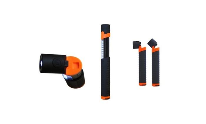Multilight Dual Led Light Source & 2  Adjustable Led Light