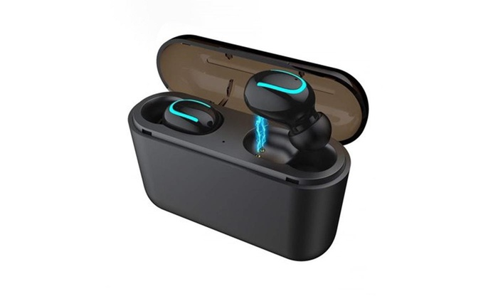 Wireless Earbuds Bluetooth 5 0 True Wireless Built In Mic Tws Headphones Groupon