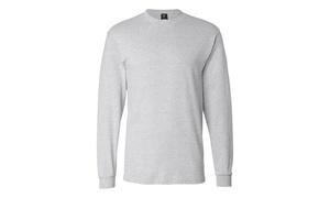 Hanes Long Sleeve Beety T-Shirt, 5186