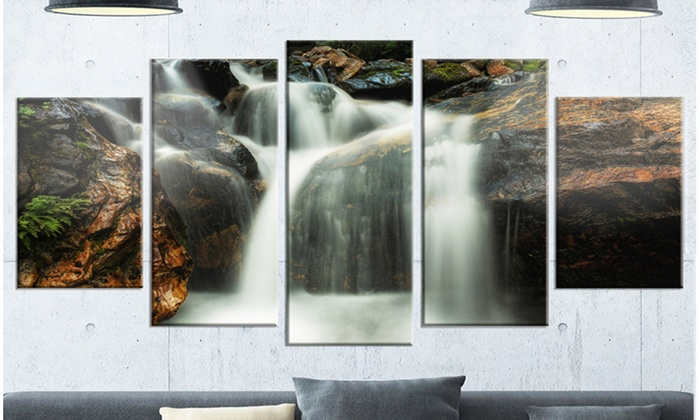 Up To 29% Off on Slow Motion Waterfall on Rock... | Groupon Goods