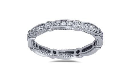 1/2 CT Diamond Stackable Ring 14K White Gold ccc3d0fd-7c3b-4f71-87cc-f96684de428b
