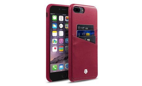 CobblePro Leather Rear Protective Case with Card Holder for Apple...