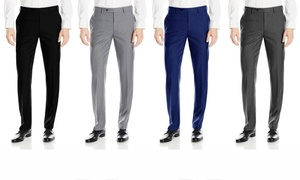 Fino Uomo Men's Slim Fit  Dress Pants