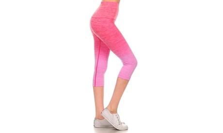 Activewear Ombre Capri Leggings 1302bec0-3774-477d-a8f6-50d358d3ff59