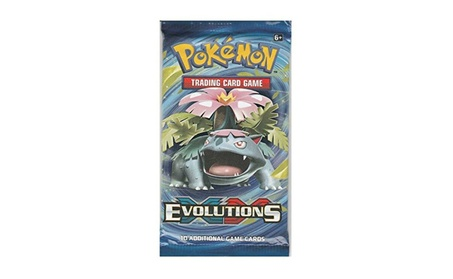 Pokemon XY Evolutions Trading Card Game Booster Pack 4078c37b-5f45-4553-bf3c-85ce66139eb7