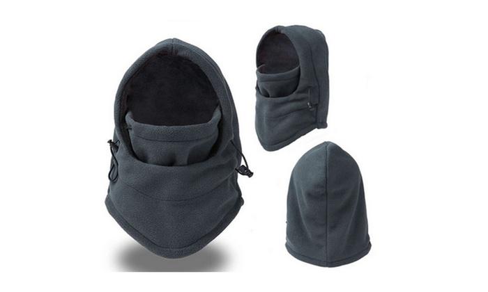 Tru Heat Windproof Fleece Ski Mask Balaclava Hood