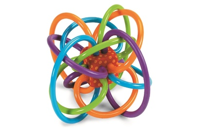 Winkel Rattle and Sensory Teether Toy e309fd55-26a8-4bc3-ba45-6ab58c92687a