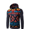Men's Fashion Digital Printing Hooded Sweater Casual Sweater