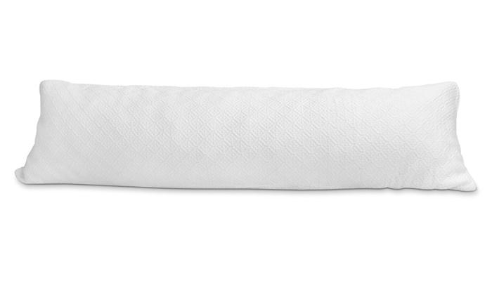 Slim Size Memory Foam Body Pillow Livingsocial