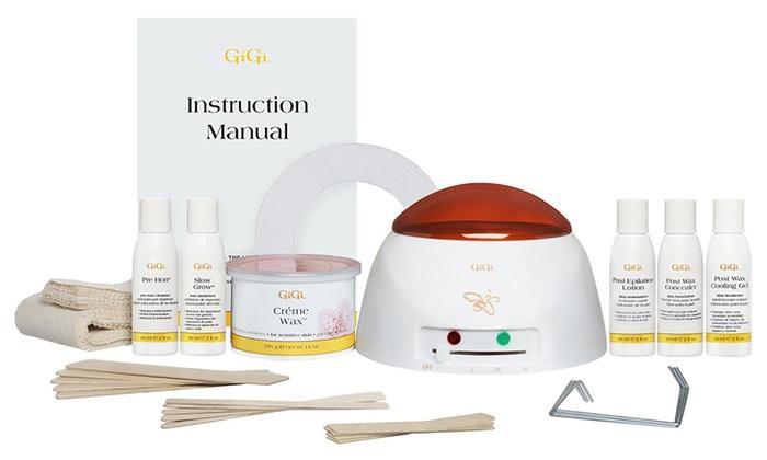 Gigi Wax 0140 Mini Pro Kit, Warmer Plus Supplies