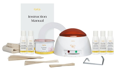 Gigi Wax 0140 Mini Pro Kit, Warmer Plus Supplies 327513d4-485d-4d9b-82c0-cba065aec264