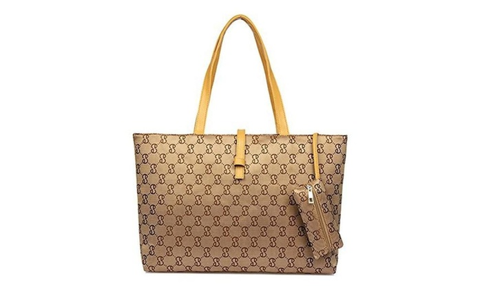 Fashion  Women Shoulder Bag Handbag Messenger Tote Bag Hobo Purse  - Khaki / x
