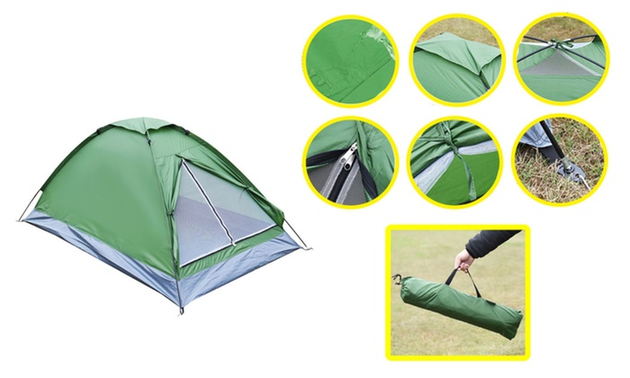 New Waterproof 2 Person Camping Tent Traveling Outdoor Hiking Double