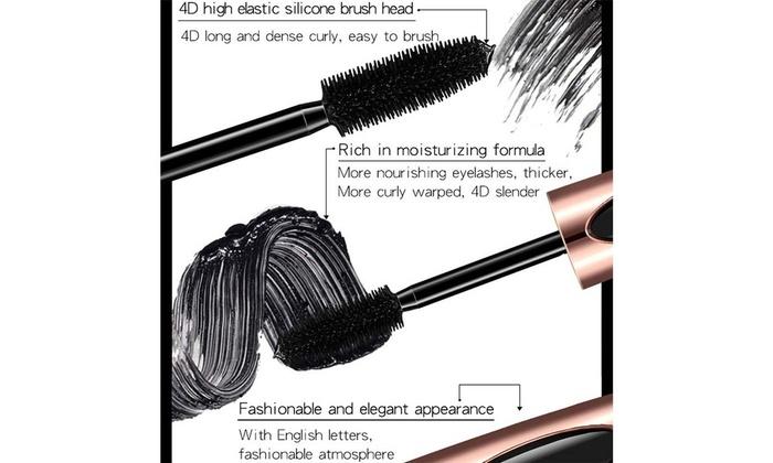 Up To 55% Off on 4D Silk Fiber Eyelash Mascara    | Groupon