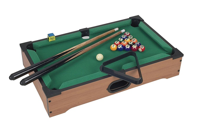 Mini Pool Table Set For Kids, Table Top Billiards Games