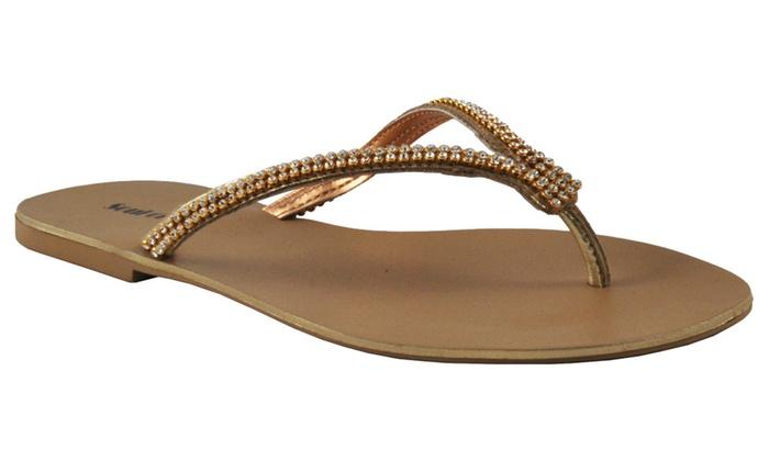 Soul of Rio Women's Ornamented Sandal
