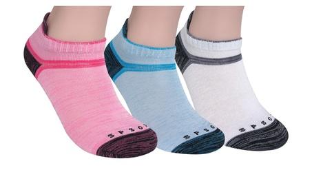 SP Sox Women's Athletic Low Cut Socks (6-Pack) e065deac-5c34-49cc-a857-aa0984719b9a