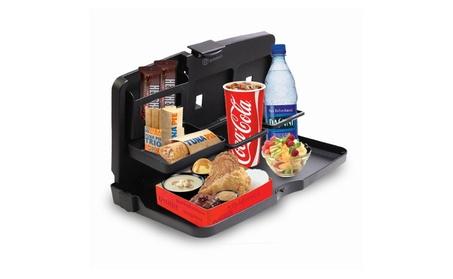 Zone Tech Back Seat Car Travel Food Desk Tray Holder Organizer 399cc6f6-8e6e-4c88-ae28-def3392ac9ac