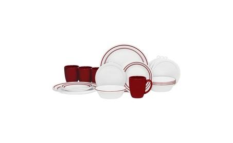 Corelle 20 Piece Livingware Dinnerware Set