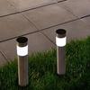 Pure Garden Solar Stainless Steel LED Lights (4-Pack)